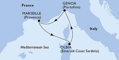 Crociera Profumi di Mediterraneo