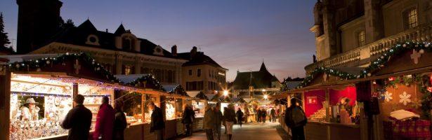 Annecy e Chambery, romantico scenario aspettando il Natale