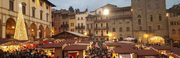 Arezzo visita guidata ed i Mercatini
