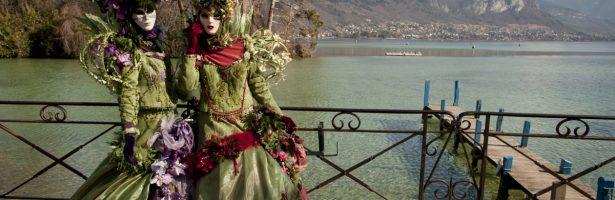 Carnevale veneziano ad Annecy e Mer de Glace