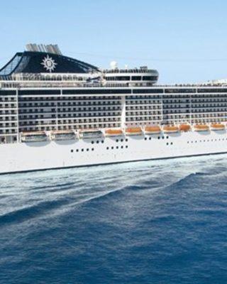 MSC FANTASIA – Grande giro del Mediterraneo