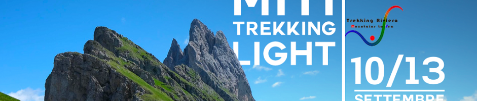 I Love Dolomiti, trekking light