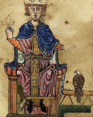 Federico II di Svevia e l'aquila